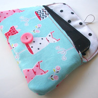 Dress Forms Mini Clutch / Dresses Polka Dot iPhone Case / Cosmetics & Makeup Bag