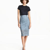 H&M Lace Pencil Skirt $49.99