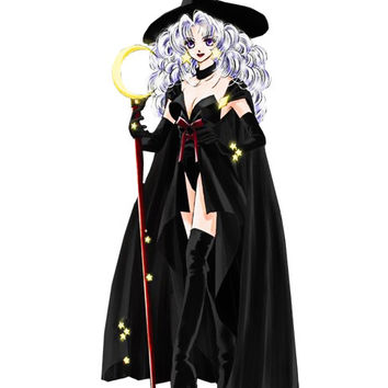 Anime Witch Image, Anime Witch Cutout, Sexy Witch Image,Large Teen Witch, Transparent Cutout, Wall Décor, Teen Room,Teen Décor, Home Décor