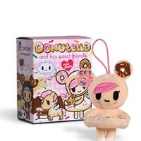 Tokidoki Donutella  and Her Sweet Friends Plush Collectibles Single Blind Box