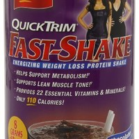 Quick Trim Fast Shake, Chocolate, Net Wt. 14.6-Ounce, 1 Can