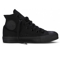 Converse Chuck Taylor High Top - Monochrome Black Sneaker