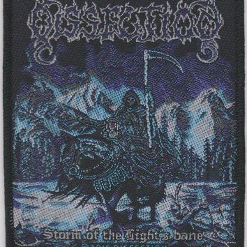 Dissection Sew On Patch Storm Of The Light's Bane Logo