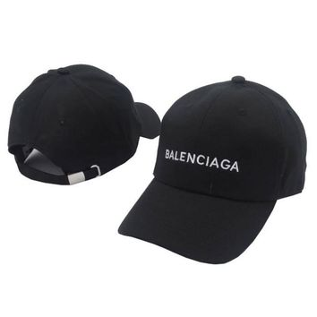 balenciaga embroidered outdoor baseball cap hats 2