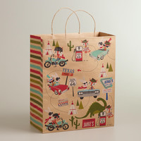 Fox & Hare Jumbo Kraft Gift Bag - World Market