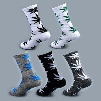 Weed Marijuana Leaf Ankle Socks Funny Crazy Cool Novelty Cute Fun Funky Colorful