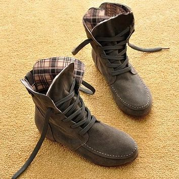 One-nice™ Autumn and Winter Boots Snow Boots for Women and Men Martin Boots Genuine Leather Boots Couples Shoes