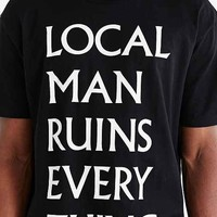 D.U.D.S. Local Man Tee- Black