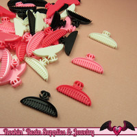 Comb or Brush Girly Decoden Kawaii Cabochons (6 pieces)