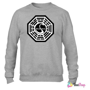Dharma Initiative (LOST)_ Crewneck sweatshirtt