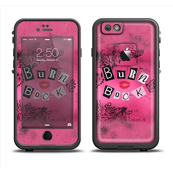 The Burn Book Pink Apple iPhone 6 LifeProof Fre Case Skin Set