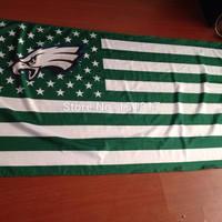 custom flag philadelphia eagles flag 3x5 ft banner nfl flag