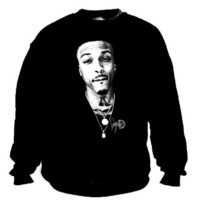 August chain crew neck sweater | Duck Sick Tees