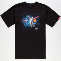 Vans Star Wars A New Hope Mens T-Shirt Black  In Sizes