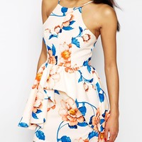 WYLDR Rosewood Dress In Floral Print