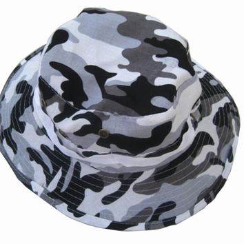 2016 New Hot Sale Military Army Bucket Boonie Cap Hat Fishing Camping Hiking lightweight High Quality