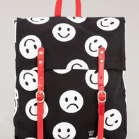Lazy Oaf | Face It Square Rucksack