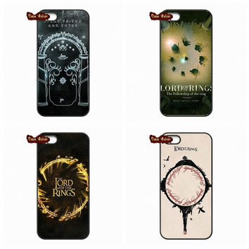 For Apple iPhone 4 4S 5 5C SE 6 6S 7 Plus 4.7 5.5 iPod Touch 4 5 6 The Lord Of The Rings Phone Case Cover