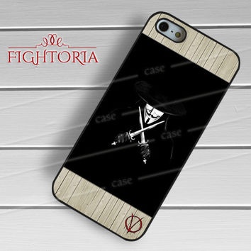 Vendeta Character -end for iPhone 6S case, iPhone 5s case, iPhone 6 case, iPhone 4S, Samsung S6 Edge