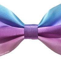 Cotton Candy Ombre Hair Bow