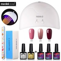 Nail Art Tools Nail Dryer Led Lamp Set Any 3 Colors Gel Nail Polish Nail Manicure Kits