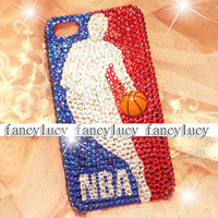 iphone 4 case - iphone 4 cover - best iphone 4 case - sport iphone 4 case - basketball unique iphone 4 case - crystal iphone 4 bling case