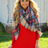 Lookin' For Love Blanket Scarf