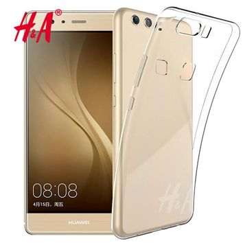 H&A Luxury Ultra Crystal Clear Case for Huawei P9 P8 lite 2017 for Honor 8 lite Silicone Cases for huawei P10 lite Soft TPU case