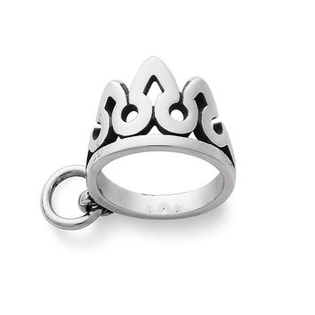 James Avery Sterling Silver Tiara Charm | Dillards