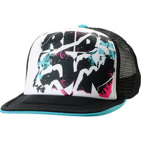 Fox Girls Rock On White Trucker Snapback Hat
