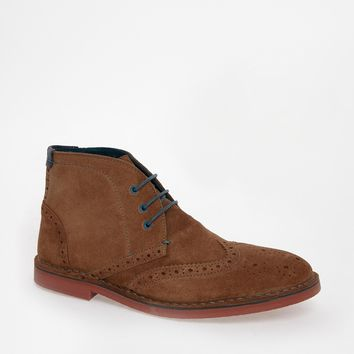 Ted Baker Kidde Brogue Desert Boots -