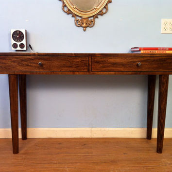 Danish Modern Console Table