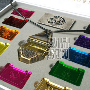 Digimon Tag and Crests BOX ver.3 The Metal Version - cosplay digivice