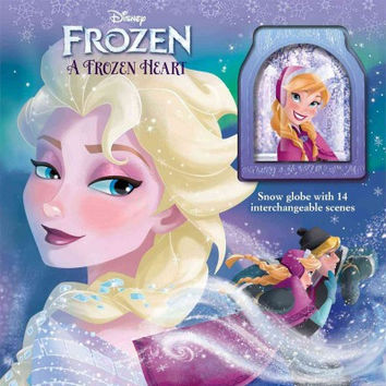 A Frozen Heart: Storybook And Snowglobe Disney: Frozen