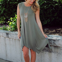 Olive You Forever T-shirt Dress