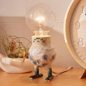 Clay And Wish Illustrated Table Lamp - Urban Outfitters