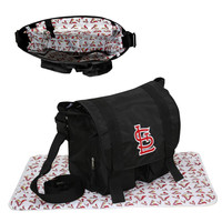 St. Louis Cardinals MLB Sitter Baby Diaper Bag