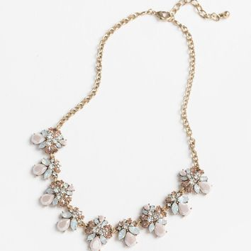 Alyssa Pastel Crystal Statement Necklace
