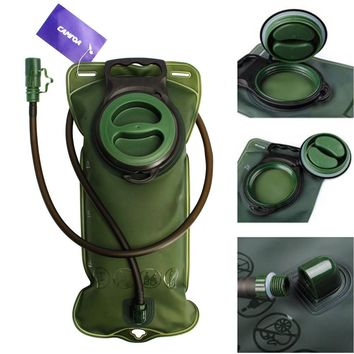 CAMTOA 2L Water Bag Hydration Bladder System for Hiking, Camping,Climbing,Outdoor Event