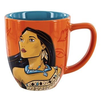 Disney Parks Princess Pocahontas Portrait Follow Your Own Path Coffee Mug New