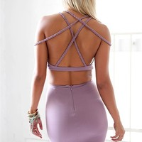Amara Set - Lilac | SABO SKIRT