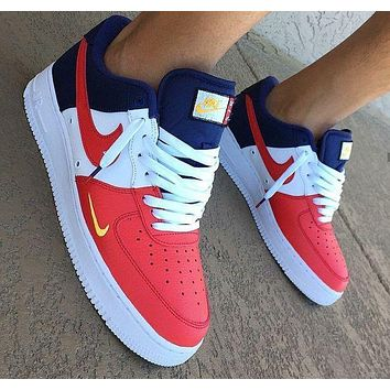 Nike Air Force 1 Low Mini Swoosh USA Sneakers Sport Shoes Day-First™
