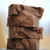 Mint Chocolate Brownie Soap, Homemade Soap, Chocolate Soap, Real Cocoa Soap, Mint Soap, Brownie Soap, Natural Soap, Smells Amazing, Brown