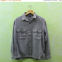 15% SALES Vintage Patagonia Western Pearl Snap Casual Buttondown Chambray Oxfords Mens Size S