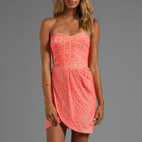 Finders Keepers Somerset Dress in Sherbert from REVOLVEclothing.com