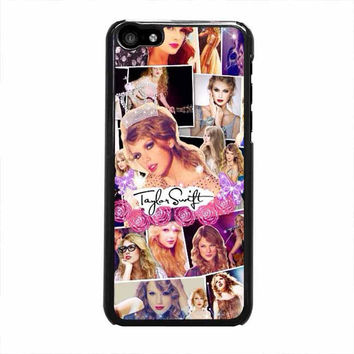 taylor swift collage photo iphone 5c 4 4s 5 5s 6 6s plus cases