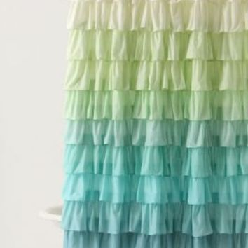 Flamenco Shower Curtain - Anthropologie.com