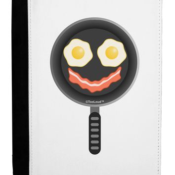 Eggs and Bacon Smiley Face Ipad Mini Fold Stand  Case by TooLoud
