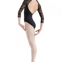 Adult Lace 3/4 Sleeve Leotard L6016 Bloch