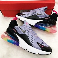 shosouvenir :Nike Air Max 270 men and women The air cushion shoes